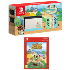 NEW Nintendo Switch Animal Crossing: New Horizon Special Edition Console + GAME