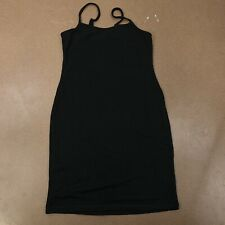 Heart & Hips Women's Size Large Black Spaghetti Strap Fitted Little Black Dress