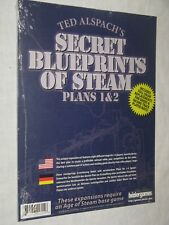 Age of Steam Secret Blueprints of Steam NEW SW train maps railroad boardgame
