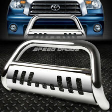FOR 07-16 TOYOTA TUNDRA/SEQUOIA STAINLESS STEEL BULL BAR PUSH BUMPER GRILL GUARD