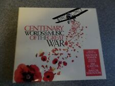 CENTENARY WORDS & MUSIC OF THE GREAT WAR ~ 2 CD Set