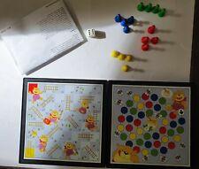 Reisespiel  2 Spiele mit magnetischen Spielsteinen mehrsprachige Spielanleitung