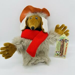 Orinoco Womble plush toy with tag Filmfair 1990 mint condition hat and scarf