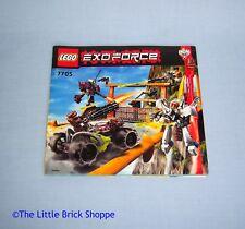 Lego Exo-Force 7705 Gate Assault INSTRUCTION BOOK ONLY - No Lego bricks