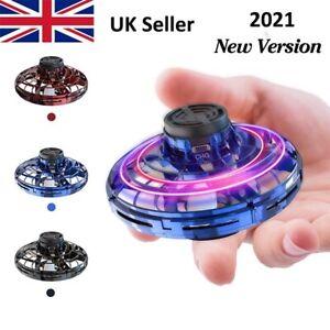 FLYNOVA Flying Fidget Spinner Gyro Drone Toy UK SELLER - LATEST 2021