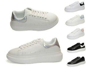 Footwear Sale Women Chunky Trainers Platform Fashion Sneakers Glitter Daily Wear