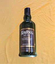 Ardbeg AN OA Islay Single Malt Scotch Whisky 3D Plastic Bar Tavern Sign