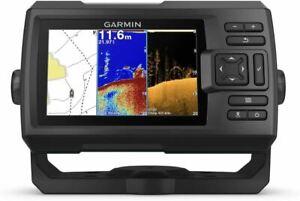 "Garmin Striker Plus 5cv with Transducer, 5"" GPS Fishfinder with CHIRP Traditiona"