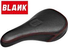 NEW Blank Black Leather Pivotal BMX Seat Bike Saddle Stranger Cult BSD Federal