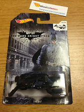 THE BAT * The Dark Knight Rises 75 Years * Hot Wheels 2014 * Z50