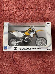 newray 1:12 motocross Bike Diecast  Model Suzuki Drz400