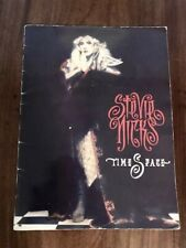 Autographed Stevie Nicks '91 Time Space/Whole Lotta Trouble Tour Concert Program