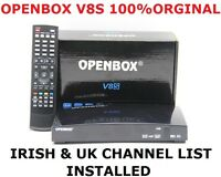 Genuine V8S Openbox FULL HD 1080P Freesat PVR TV Satellite Receiver Box