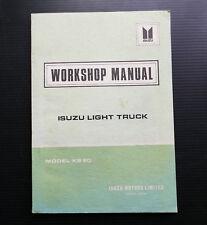 ISUZU Light Truck KB20 Chassis Workshop Service Repair Manual Transmission Body