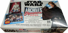 2018 Topps Star Wars Archives Signature Series HOBBY BOX FACTORY SEALED!!