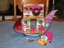 Hasbro Littlest Pet Shop Pet Jet Airplane w/ 1 Pets