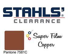 "20"" x 5 Yards - Stahls' Super Film Heat Transfer Vinyl HTV - Copper"