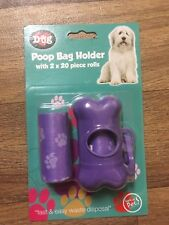 Dog Poop Bag Holder with Bags
