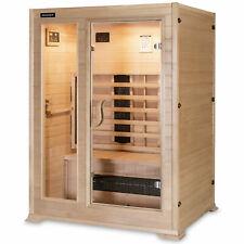 Infrarotsauna Infrarotkabine Sauna Hecht Active Infrarot Massivholz Wärmekabine