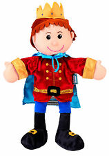 Royal Prince Of The Castle Hand Puppet For Theatre & Story Time By Fiesta Crafts