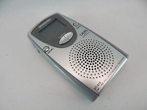 Sangean DT-210 AM/FM Stereo PLL Synthesized Tuning DBB Pocket Radio WORKS GREAT