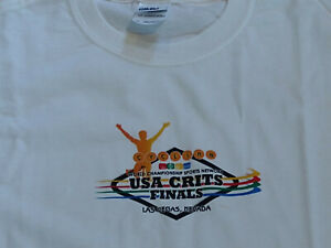 USA Crits Professional Cycling Race T-Shirt New: Size Medium Las Vegas