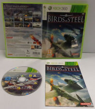 Consolle Game Gioco Microsoft XBOX 360 PAL ITALIANO Konami Play - BIRDS OF STEEL