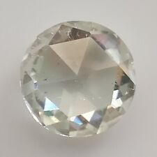 Round Rose Cut Loose Moissanite Diamond Ring 1.36 Ct 7.87x2.80 Mm Si1 Near White