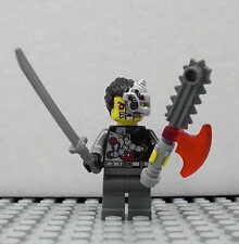 LEGO Ninjago - Cyrus Borg - Figur Minifig Ninja Cyborg Samurai OverBorg 70722