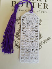 BookMark - Free Standing Lace with purple tassel