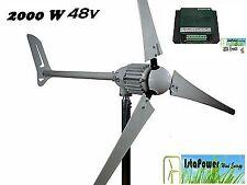 Set Windgenerator 48V / i-2000 IstaBreeze +Hybrid Charge controller 2000w 48v