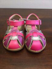 Stride Rite Girls Summertime Sandals Memory Foam New 5 M