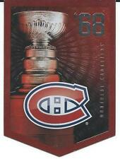 NHL Panini 2012 Coors Light Stanley Cup Collection Montreal Canadiens 1968