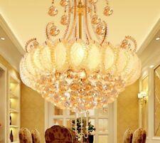 Crystal Chandeliers For Living Room Indoor Elegant Ceiling Fixtures Lamp Decors
