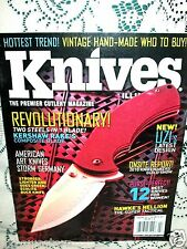 KNIVES ILLUSTRATED 2/2011~KERSHAW RAKE~BUCK ECOLITE~HAWKE HELLION~UZI ZF0069B