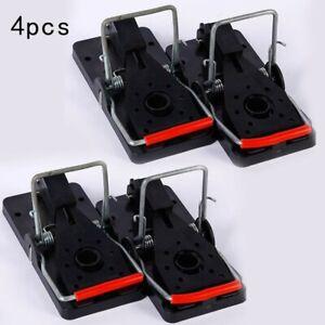 4Pcs Plastic Mouse Traps Premium 5 CM x 10 CM Snap Mice Trap Catcher Supply H5Y