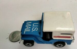 Vintage 1976 MatchBox Lesney Superfast-Sleet-N-Snow Blue US Mail Collectible