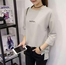 Korean Fashion Ladies Women Clothing Smart Casual Slim Cut T-shirt (L Size Only)