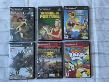 Ps2 PlayStation 2 lot Of 6 games! Tested And Working Great, Free Shipping!