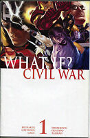What If Civil War 1 Marvel 2007 NM Iron Man Captain America Thor Avengers
