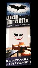 THE DARK KNIGHT JOKER FATHEAD WALL GRAFFIX   FREE  USA SHIPPING