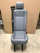 2015-2018 Ford Transit Van OEM Rear Pewter Gray Vinyl Single Bucket Seat