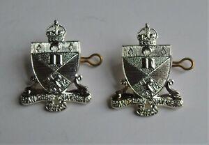 St Andrews University Officer Training Corps OTC Collar Badges