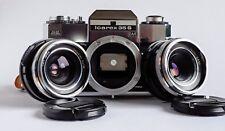 Icarex 35S BM inkl. 3,4/35 mm Skoparex+2,8/50 mm Tessar