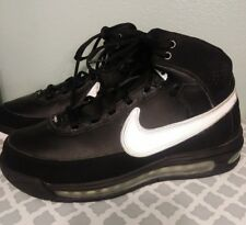 b98abe1cdf5 Nike Air Max Elite Family Force Shoes 316903-011 Mens 7.5 Black Silver White