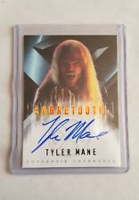 X-MEN (2000) MOVIE AUTOGRAPH AUTO CARD - TYLER MANE AS SABRETOOTH BY TOPPS