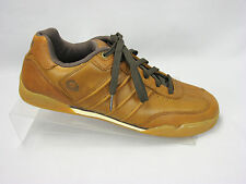 Gravis Kingpin Brown Leather Skate Sneakers Athletic Casual Shoes Mens Size 10