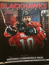 Chicago Blackhawks -*-*2013 WCF Playoffs Game Program (Kane/Sharp Cover)_New!!!