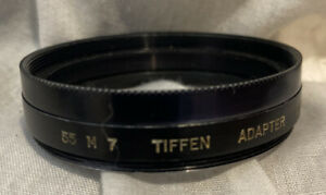 Vintage Tiffen Series 7 Filter Holder to 55mm Lens Thread *USA
