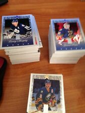 1995/96 DONRUSS ELITE BASE HOCKEY SET 1-110